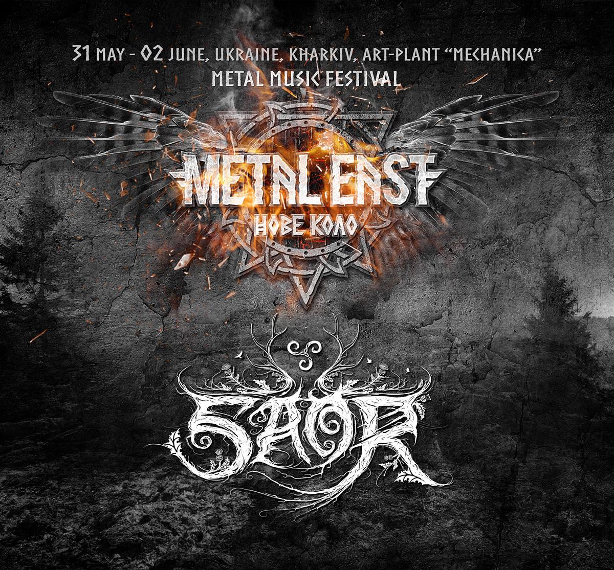 Saor – Metal East Нове Коло з 31-го травня по 2-ге червня 2019 року!